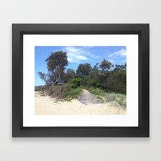 Woolgoolga 2 Framed Art Print