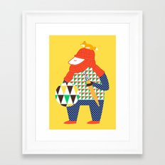 Warrior's Pet Framed Art Print