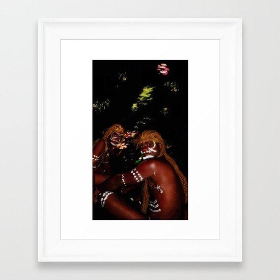 Time forgot. Framed Art Print