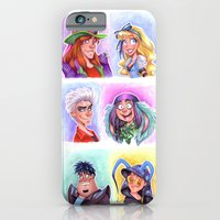 iPhone & iPod Case featuring Mad T Party Band by Brianna
