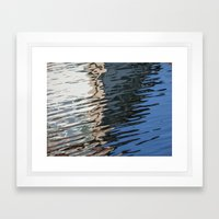 Water surface (5) Framed Art Print