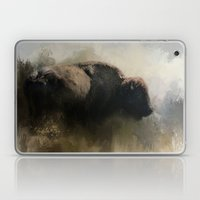 Abstract American Bison Laptop & iPad Skin