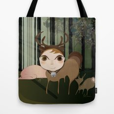 Deery Fairy in the Forest Tote Bag