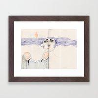 Overdone Framed Art Print
