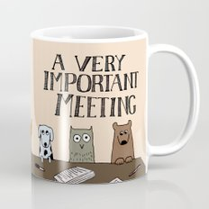 A Very Important Meeting Mug