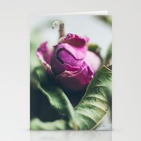 Dried Rose Stationery Cards
