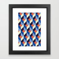 Geolectric Framed Art Print