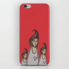 Love, Peace, YEAH! iPhone & iPod Skin