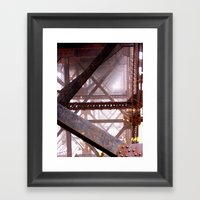 I Need More Structure In… Framed Art Print