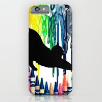 The cat got into the crayons iPhone 6 Slim Case