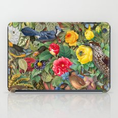 Birds Insects Plants iPad Case