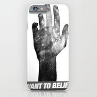 iPhone & iPod Case featuring I Want To Believe by Devin Caldwell