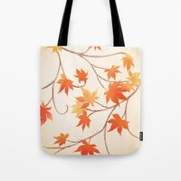 Autumn Leaves are like Flowers Tote Bag