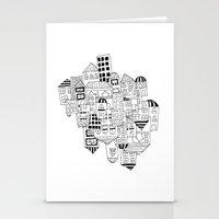 CLUSTER (FXCK) Stationery Cards