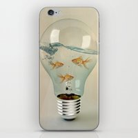 Ideas And Goldfish 03 iPhone & iPod Skin