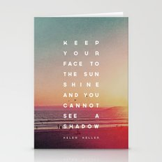 Face to the Sunshine Stationery Cards