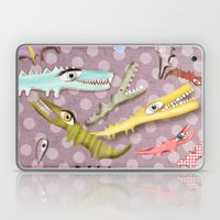 Crocodile Love Laptop & iPad Skin
