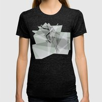 Boneless Womens Fitted Tee Tri-Black SMALL