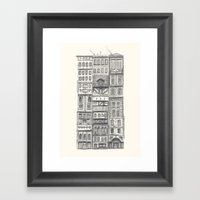 Crowded #2 Framed Art Print