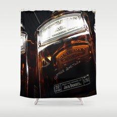 Single Jack Shower Curtain