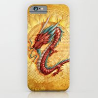 iPhone & iPod Case featuring Chinese dragon by Rosalys