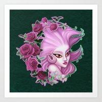 Terra Esper Art Print