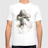 Savage Mens Fitted Tee White SMALL