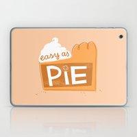 Easy As Pumpkin Pie Laptop & iPad Skin