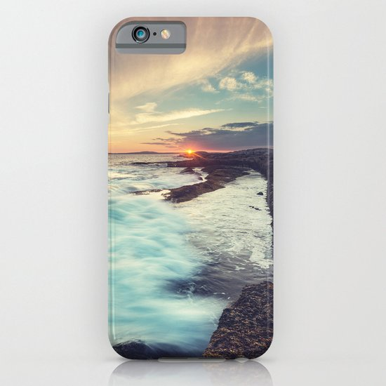 Setting over Surf iPhone & iPod Case