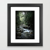 Peace.Serenity Framed Art Print