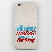 While My Guitar Gently Weeps.  iPhone & iPod Skin