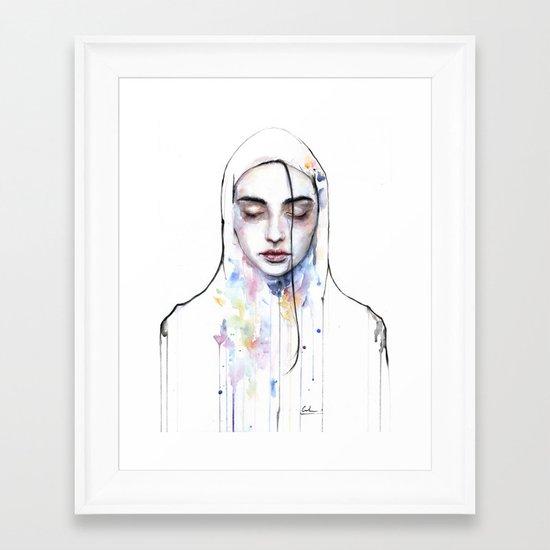 Habibi (nudity) Framed Art Print