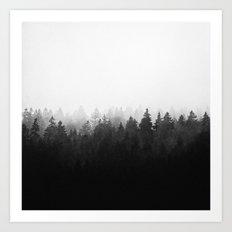 A Wilderness Somewhere  Art Print