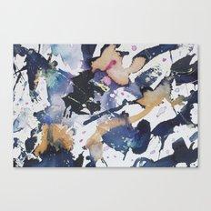 #1 Blue Canvas Print