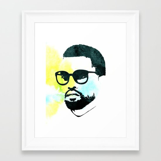 K' Framed Art Print