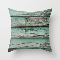 erode Throw Pillow