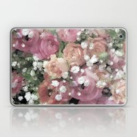 vintage pastel flowers Laptop & iPad Skin