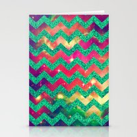 GLITTER SPACE 8 - For Ip… Stationery Cards