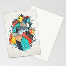 Tumble Town  Stationery Cards