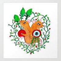 Eye Keepers Art Print