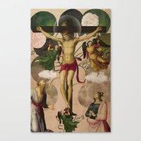Saints Collection -- Re-… Canvas Print