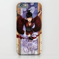 iPhone & iPod Case featuring Kunoichi 4 of 4 by Hexapus Ink