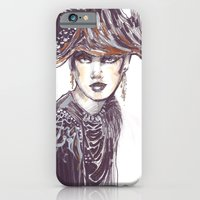 Fashion Sketches In Mixe… iPhone 6 Slim Case