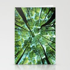 Looking up in Woods Stationery Cards