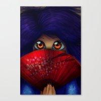 Hiding.  Canvas Print
