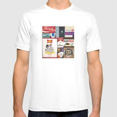 Consumption of goods White Mens Fitted Tee SMALL