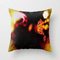 Chaos 057 Throw Pillow