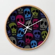 Skulls-3 Wall Clock
