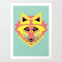 Fabulous Fox Art Print