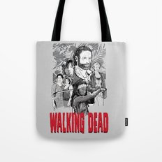 Walking Dead Tote Bag